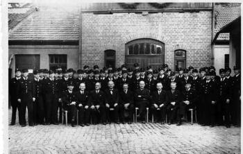19481001 40 Jahre Berufsfeuerwehr