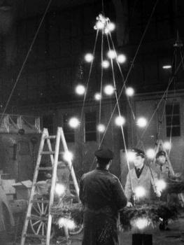 19601112 BF Weihnachtsbeleuchtung