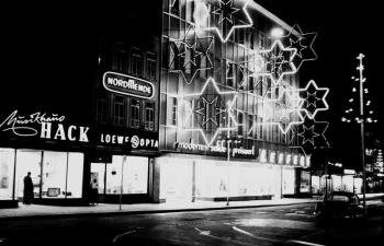 19631120 Gronerstr. Kaufhaus Leffers