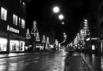 19631120 Weihnachtsbeleuchtung Diekmann