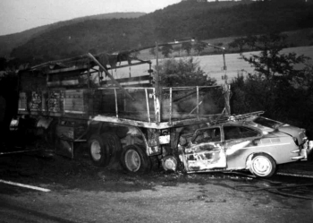 19670729 Unfall BAB Münden 1