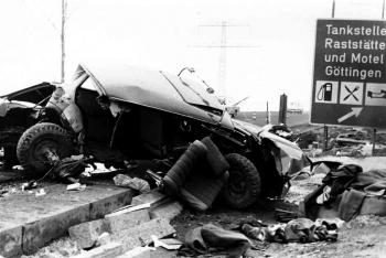 19680303 Unfall BAB Göttingen 1