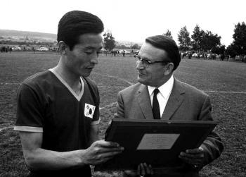 19690629 Fussball Süd Korea, Leßner