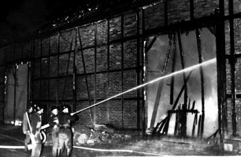19691108 Feuer Rittergut Rosdorf
