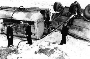 19700316 Unfall Öltanker Gladebeck