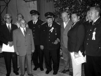 19700629 FF Rosdorf 80 Jahre Feuerwehr