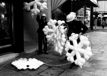 19701127 Weihnachtsbeleuchtung 4
