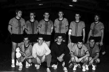 19701205 Handball 05 Mannschaft