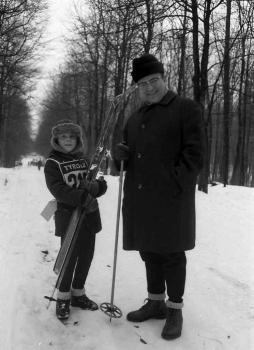 19710117 Ski Volkslauf Leßner