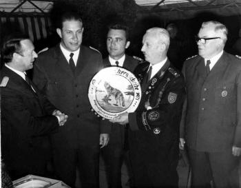 19710715 Schützen Ehrenscheibe Polizei