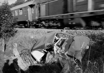 19710907 Unfall mit Bahn Wellbrücke