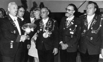 19710927 Ehrenteller Gothaer Schützen