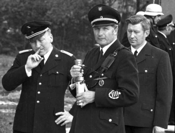 19720505 Übung BF, Bahnwehr, Käse, Karkowski