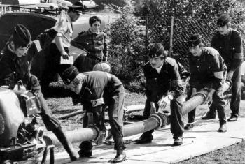 19720900 FF Übung Jugendfeuerwehr