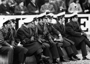 19721000 Polizei Fussballwache