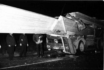 19721207 Unfall BAB LKW 1