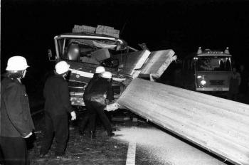 19721207 Unfall BAB LKW
