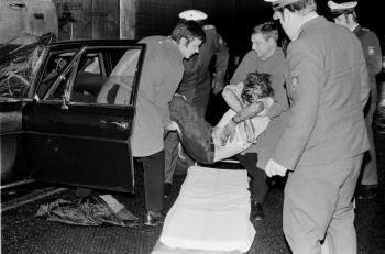 19730121 Unfall BAB Anschlussst. Göttingen 1