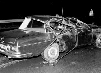 19730121 Unfall BAB Anschlussst. Göttingen