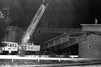 19730831 BAB Brückenmontage1