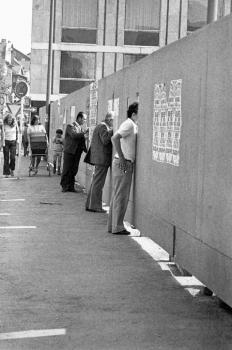 19730918 Bauzaun Reitstallviertel