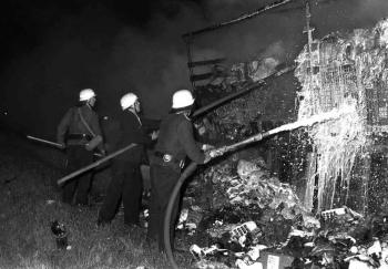19730928 Feuer LKW BAB 1