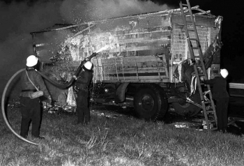 19730928 Feuer LKW BAB