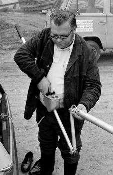 19731005 Bombensucher Fritz Hannenberg