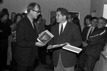 19731017 Partnerschaft Cheltenham r. Gerhard Bauer