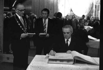 19731108 Israelischer Botschafter Ben Horin