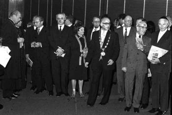 19731108 Israelischer Botschafter Ben Horin, Levi