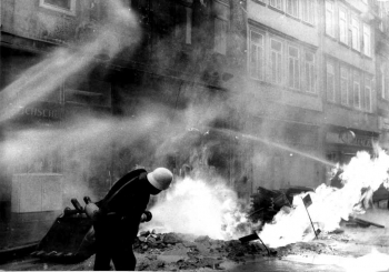 19731109 Gasrohrbrand Weenderstr 1