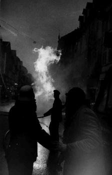 19731109 Gasrohrbrand Weenderstr 4