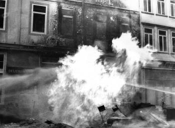 19731109 Gasrohrbrand Weenderstr 7