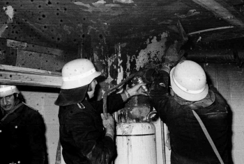 19740105 Feuer Weende,Obere Mühle