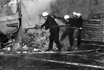 19740123 Feuer LKW BAB 1