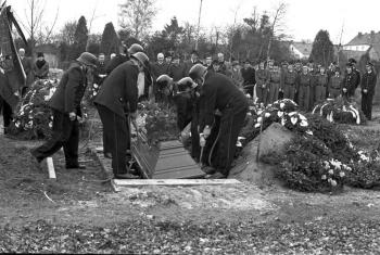19740130 Beerdigung Mühlhausen 1
