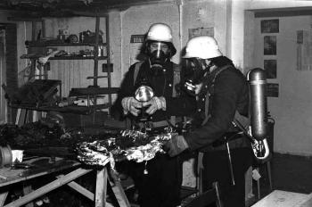 19740211 Feuer Druckerei Reinhäuserland