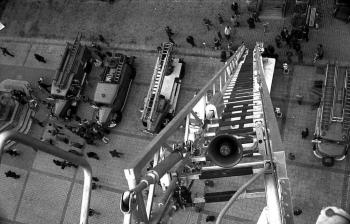 19741016 Marktplatz von oben