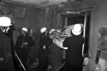 19741226 Feuer Reinhäuser Landstrasse