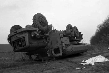 19750318 Unfall Bundeswehrfahrzeug