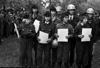 19750800 Ehrung Jugendfeuerwehr