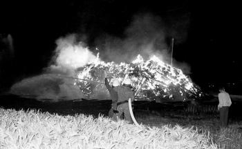 19760705 Feuer Feldscheune Karstadt