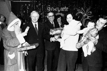 19761200 Weihnachtsfeier Friedland