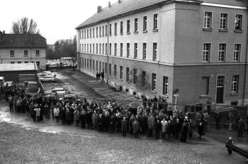 19761209 Richtfest Rathaus 1