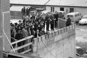 19761209 Richtfest Rathaus 3