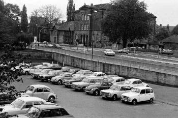 19770106 Parkplatz Bürgerstrasse