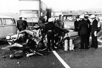 19771019 Unfall BAB Friedland 1