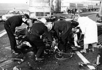 19771019 Unfall BAB Friedland