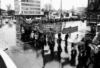 19771109 Demo Buback Politisches Mandat